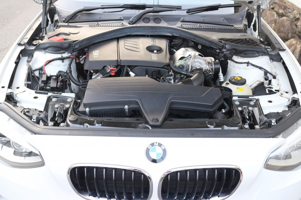 BMW F20 116iの冷却水漏れの修理